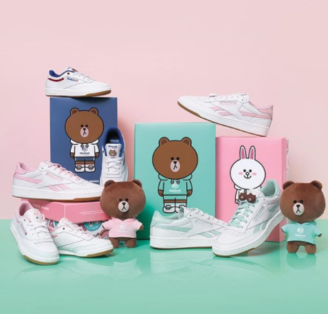 3d9fae2a810 Reebok Korea has joined hand with Line Friends to launch a unisex capsule  collection that scream SPRING with its pastel colour ways!