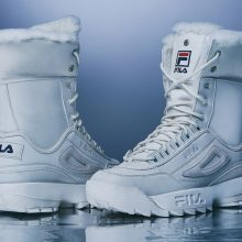 dc9e70eaddf76 Going somewhere cold but don t want to part with your beloved sneakers for  some weather-appropriate boots  Thanks to FILA