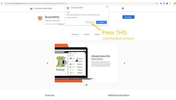 Buyandship Chrome Extension Make Finding Deals Easy