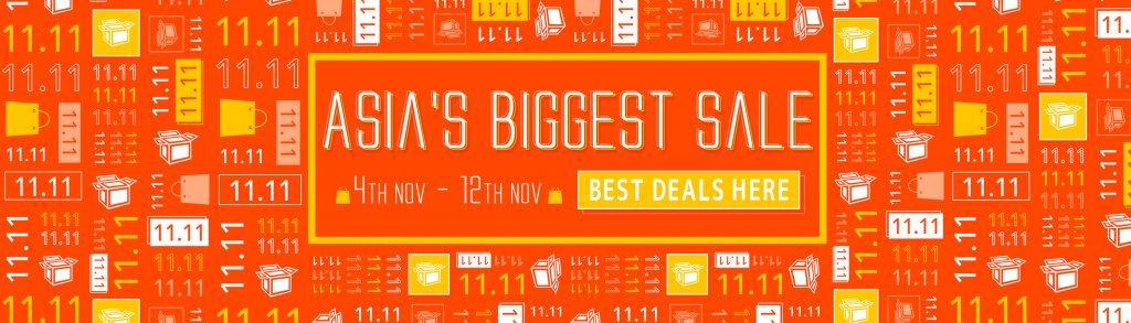 11.11 Sale 2019 - Asia's Biggest Sale