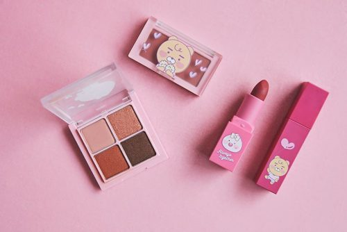 11.11 Sale 2019 - Kakao Friends Twice Edition - 4-piece Makeup Set