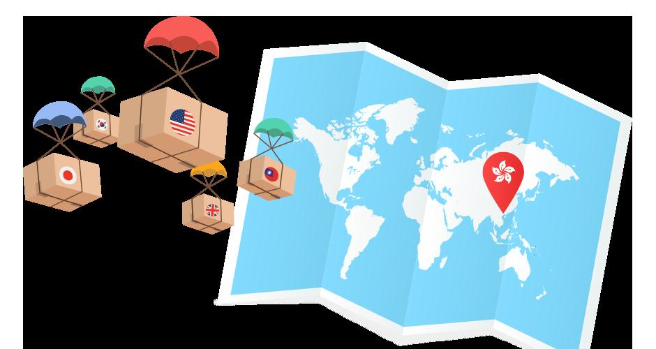 Worldwide Shipping - Overseas Warehouses