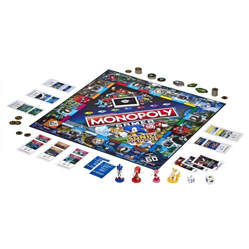 Monopoly Gamer Sonic the Hedgehog Edition Board Game from Mighty Ape Australia