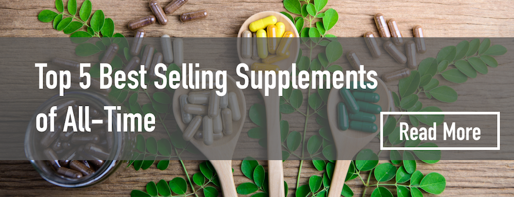 Top 5 best selling supplement of all time