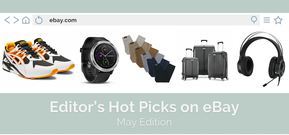 Editor Hand-Picked eBay Top 5 Deals in May