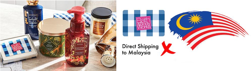 shop Bath & Body Works ship to Malaysia