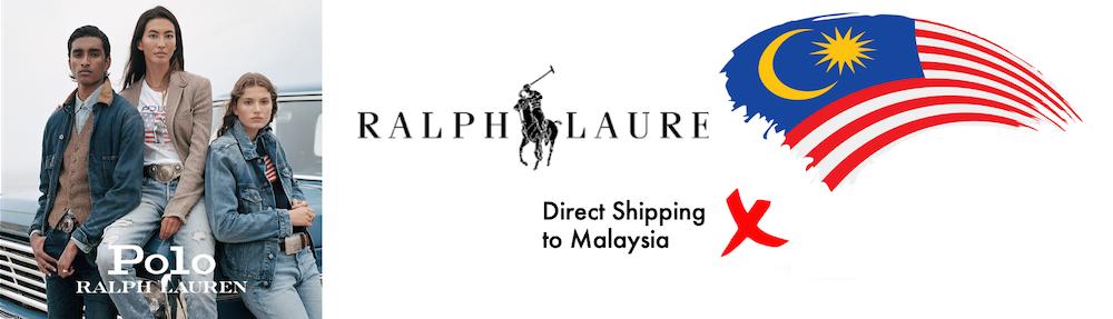 shop ralph lauren ship to Malaysia