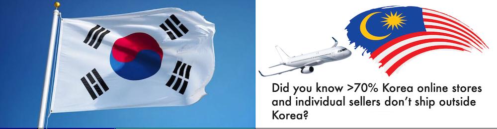shop korea ship to Malaysia