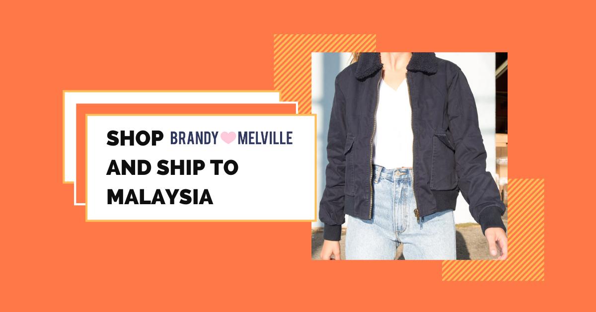 shop Brandy Melville ship to Malaysia