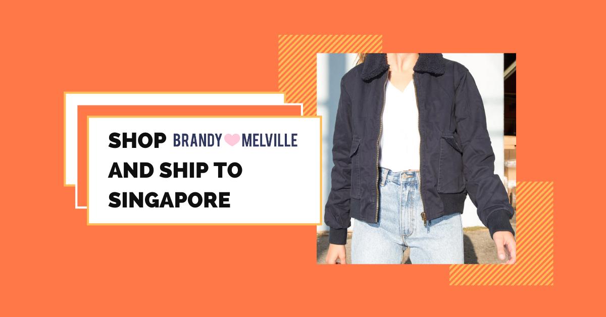 shop Brandy Melville ship to Singapore