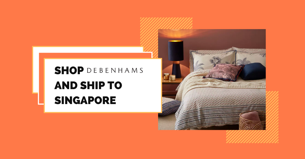 shop Debenhams ship to Singapore