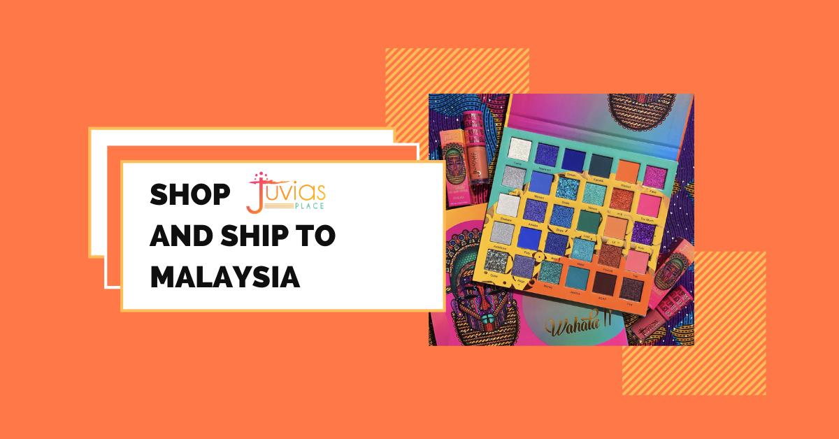 shop Juvia's place ship to Malaysia