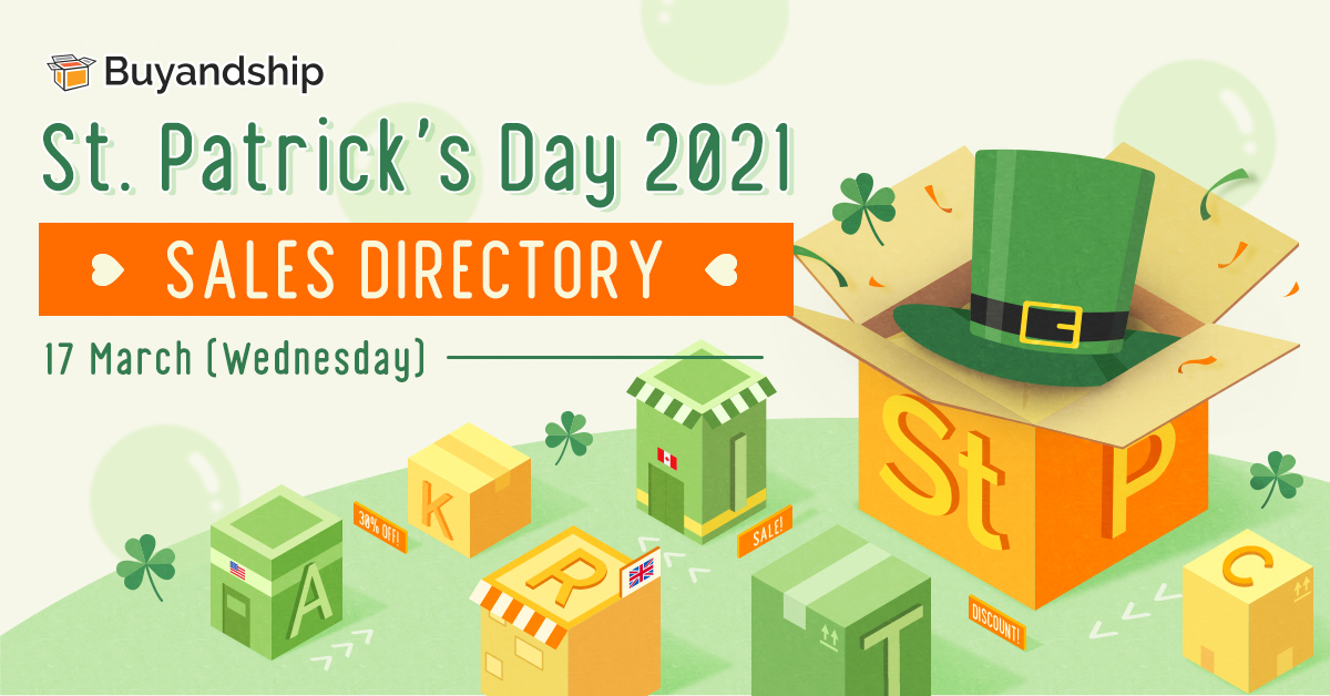 2021 st. patrick's day deals promo code